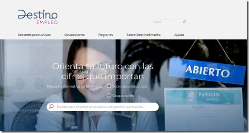 Pagina Web Destino Empleo