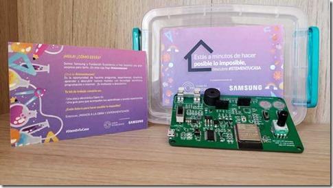 Samsung y Fundación Ecoscience _STEM en tu Casa_